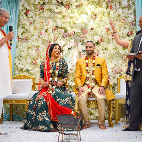 Wedding booking process