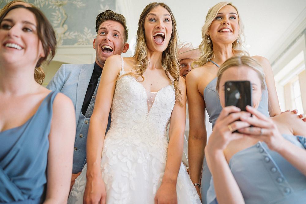 Alvastan Hall Wedding Photography, Cheshire Woodland Wedding Photography, Cheshire Photographer