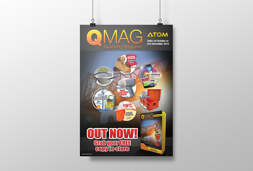 ATOM QMag Features Poster