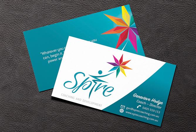 Spire Business Card & Logo Design
