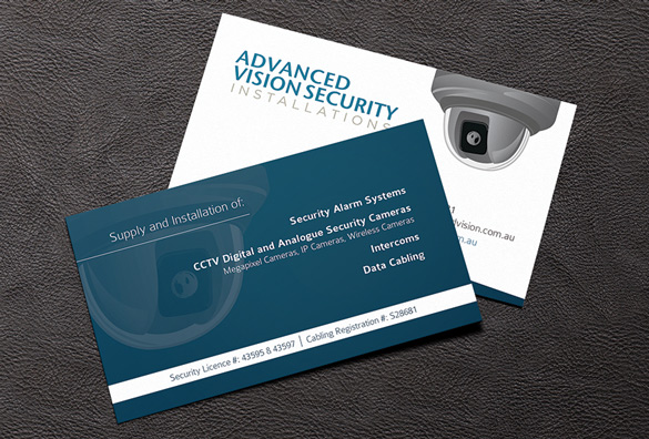 Advanced Vision Business Card Design