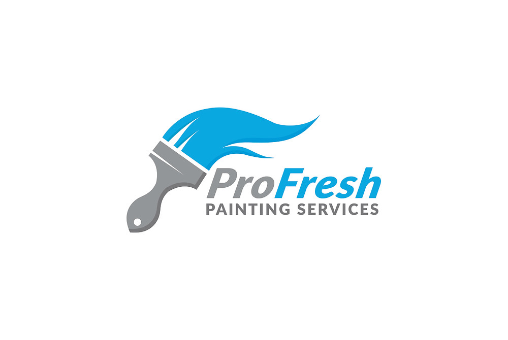 ProFresh Painting Services Logo by Laroja Creative Perth Australia