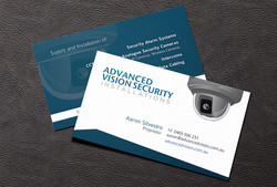 Advanced Vision Business Card Design