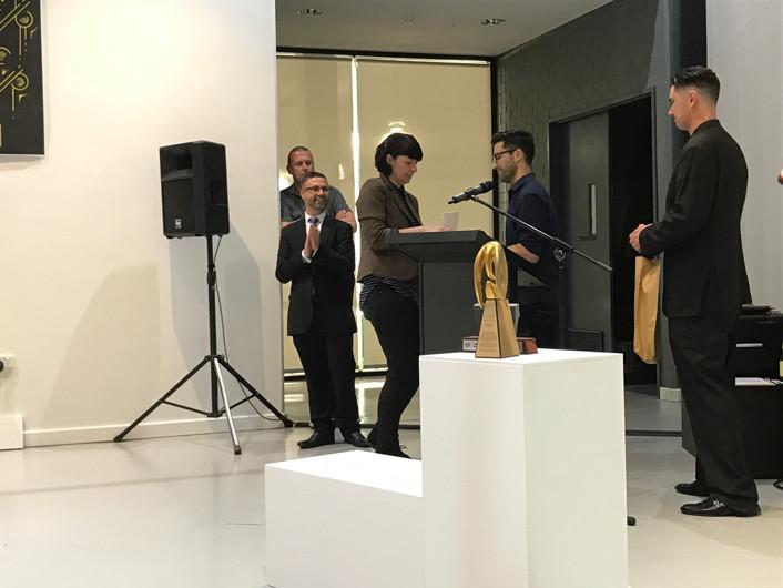2016 TAFE Graphic Design Grad Show Portfolio Award Winner