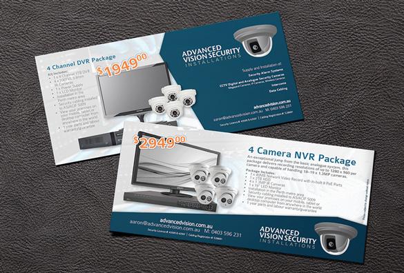 Advanced Vision DL Flyer Design