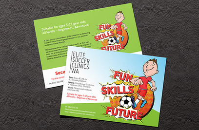 Elite Soccer Clinics WA Flyer