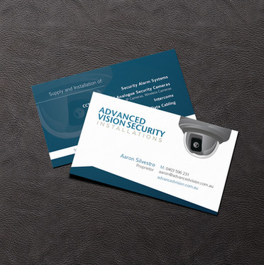 Advanced Vision Security Business Card