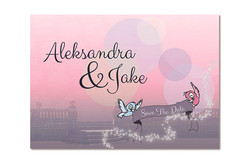 Disney Themed Save The Dates