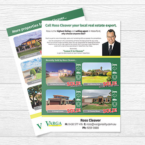 Real Estate Flyers for Varga Realty