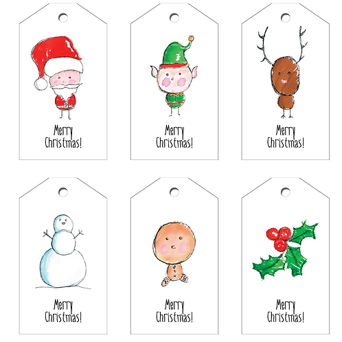 Christmas Crew Swing Tags