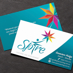 Spire Business Card Design