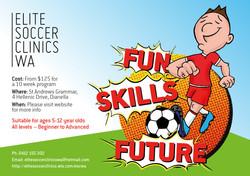 Elite Soccer Clinics WA Flyer