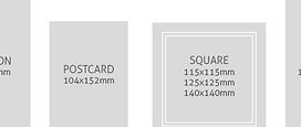 Invitation Card Sizes