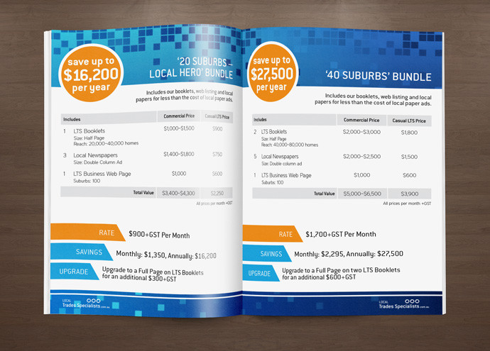 Local Trades Perth Brochure Design by Laroja Creative