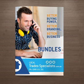 Local Trades 8 Page Bundles Brochure Design