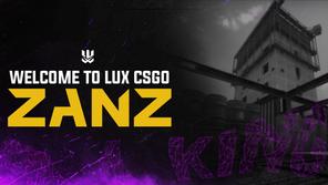 Welcome Zanz to Lux CS:GO