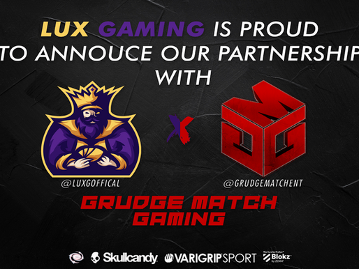 LuxGaming Partners with Grudge Match Gaming!