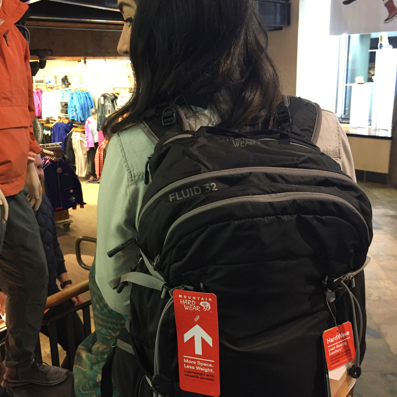 Backpack give-away