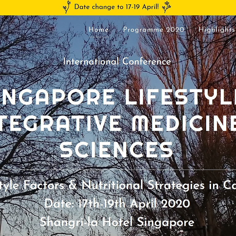 The international Conference of Lifestyle and Integrative Medicine Conference 2020