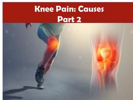Knee Pain: Causes