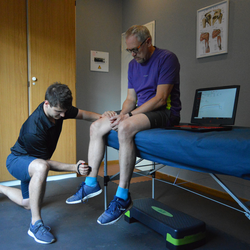 BioFET muscle strength testing