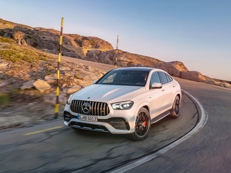 The new Mercedes-AMG GLE 53 4MATIC+ Coupé.. Dynamic and athletic model for different terrains