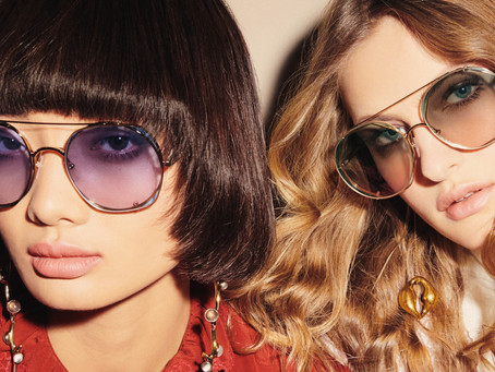 Chloé - see with optimism a campaign by ezra petronio with felice noordhoff and mao xiaoxing