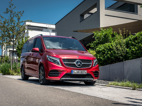 The Mercedes-Benz V-Class in Qatar .. more attractive, more luxurious