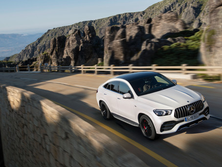 The Mercedes-AMG GLE 53 4MATIC+ Coupé.. Dynamic and athletic model for different terrains
