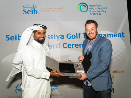 Seib Insurance & Reinsurance announces winners for the Massiya Golf Tournament