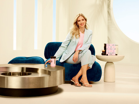 NESPRESSO PARTNERS WITH CHIARA FERRAGNI FOR A REFRESHING SUMMER COLLECTION