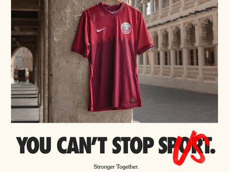 Nike reveals Qatar Football National Team collection- Maroons Are Flying the Flag