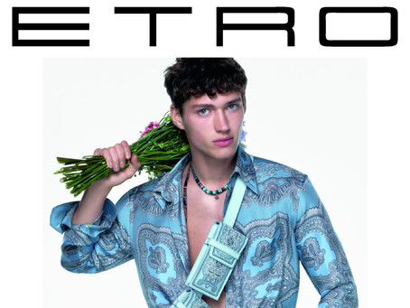 """""""THE HOUSE OF ETROVAGANZA"""" ETRO UNVEILS THE NEW FALL WINTER 2021/22 ADVERTISING CAMPAIGN"""