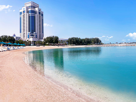 THE RITZ-CARLTON, DOHA ANNOUNCES THE RE-OPENING OF ITS LUXURY BEACH