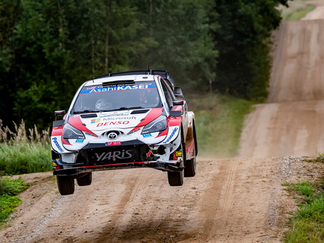 GAZOO Racing achieves podium place and Power Stage win at Rally Estonia