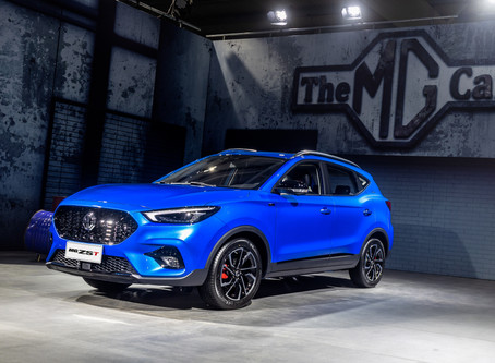 New MG ZST at heart of enhanced crossover line-up from British-born car brand