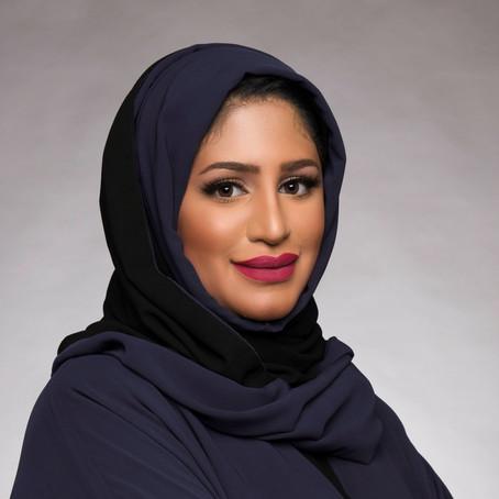 An Artist of Blue: An Interview with Muna Al-Bader