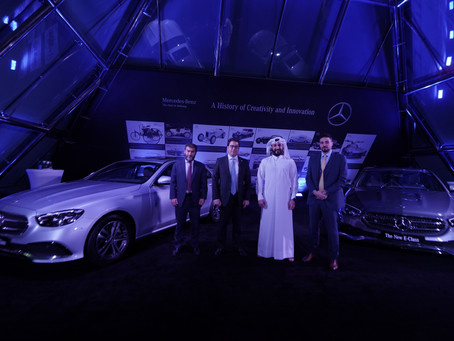 Nasser Bin Khaled Automobiles launches the Mercedes-Benz all-new most intelligent E-Class in Qatar