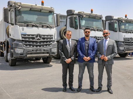 NBK Automobiles signs a deal to supply UCC  with Mercedes-Benz Actros and Arocs Trucks