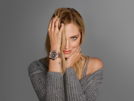Chiara Ferragni Becomes A New Hublot Global Ambassador And Face Of The Global Campaign