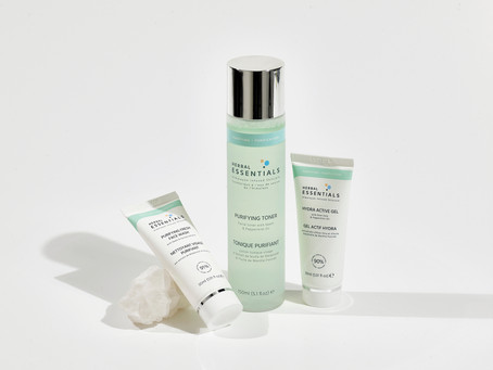 Herbal Essentials - The Only 3 Essentials Needed for an Oily Skincare Routine