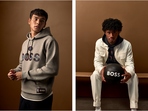 BOSS and NBA LAUNCH SECOND co-branded CAPSULE collection
