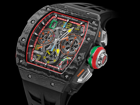 Richard Mille - TECHNIQUE AND INNOVATION AT THE HEART OF THE NEW RM 65-01