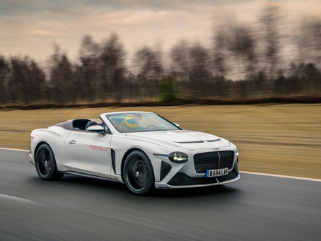 Bentley Mulliner - BACALAR CAR ZERO STARTS SIGN-OFF DUTIES
