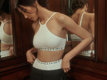 LA PERLA - CONSCIOUS COLLECTION: COMFORT ZONE CRAFTED FROM RECYCLED LYCRA & SUPREME GREEN COTTON