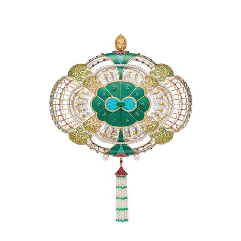 The One-of-a-Kind Fabergé Majesty Clutch Bag