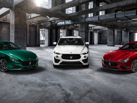 The most powerful collection from Maserati arrives in Qatar