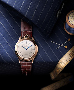 JAEGER-LECOULTRE AND MR PORTER INTRODUCE THE MASTER ULTRA THIN KINGSMAN KNIFE WATCH