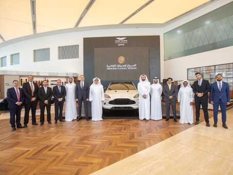 Alfardan Luxury Motors Announces its Official Partnership with Aston Martin in Qatar