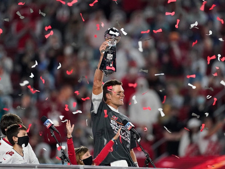 TIFFANY & CO. CONGRATULATES THE TAMPA BAY BUCCANEERS, SUPER BOWL LV CHAMPIONS